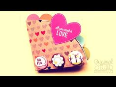 Carta Squash #TutoCG // Manualidades San Valentin-14 febrero - YouTube