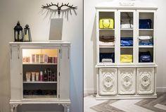 Joydrop store by Cutler, Calgary Canada accessories Visual Merchandising, Accessories Display, Design Furniture, Retail Design, Stores, Store Design, Calgary, Shelving, Bookcase