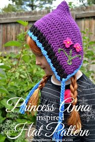 Princess Anna inspired crochet hat with pattern»Over The Apple Tree
