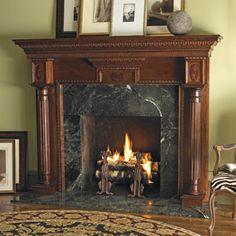 89 best fireplace mantel surrounds images fire places living room rh pinterest com