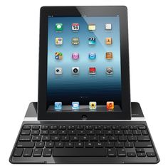 Logitech Ultrathin Keyboard Cover For New iPad - Logitech has brought an ultrathin keyboard cover for iPad 2 and New iPad (3rd generation). This cover comes with a metal finish and once you set your iPad on the cover it just looks like a mini MacBook Pro. It also protect the iPad with a super thin (only 8mm thick) screen cover. Check more features below. [Click on Image Or Source on Top to See Full News]