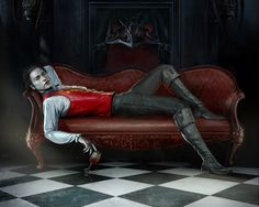 """""""You are a vampire who never knew what life was until it ran out in a big gush over your lips."""" - Interview with a Vampire Male Vampire, Gothic Vampire, Vampire Art, Hot Vampires, Vampires And Werewolves, Dark Fantasy, Fantasy Art, Vampire Stories, Spirituality"""