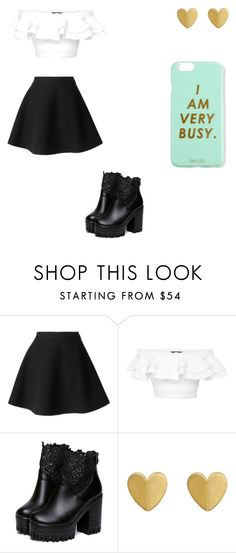 """casual day"" by starbuckslover101 ❤ liked on Polyvore featuring MSGM, Alexander McQueen and Bando"