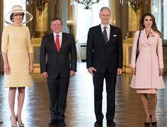 Queen Rania and King Abdullah state visit to Belgium