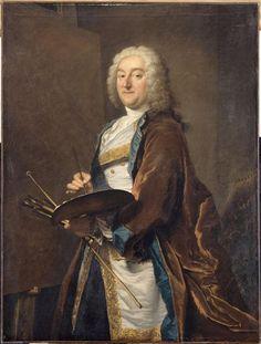 Joseph Aved | Jean-François de Troy, peintre (1679-1752) - en 1734 | 1734
