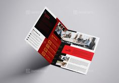 Best Bi-Fold Brochure $6.99 Best Bi-Fold Brochure This elegant and well organized A4 size Bi-fold business brochure template is in PSD and EPS formats. It's ready to print. The business brochure template is suitable for promoting your business events in an elegant style. This is a Corporate Bi-fold Brochure template. This template contains a 300 dpi print-ready CMYK PSD, EPS files. All main elements are editable and customizable. Easy Customizable and Editable Brochure size A4 (8 Brochure Size, Bi Fold Brochure, Business Brochure, Brochure Design, Booklet Template, Brochure Template, Graphic Design Templates, Print Templates, Business Events