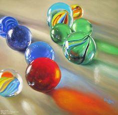 Marbles II | Mobile Artwork Viewer