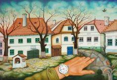 Peter Ghetu -Presence of Time 2009 Framed Prints, Canvas Prints, Art Prints, Time Painting, Oil On Canvas, Saatchi Art, Original Paintings, Mansions, The Originals