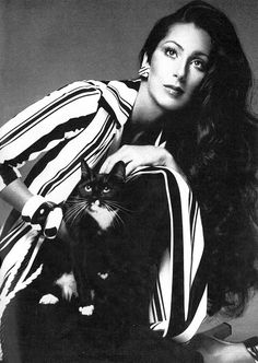 Cher is of Armenian, Cherokee, English and French descent.  And sometimes I forget why I had such a HUGE crush on her, till I see pictures like this....