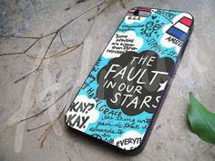 The Fault In Our Star Collage for iphone 4/4s case, iphone 5/5s/5c case, samsung s3/s4 case cover in adindacase on Etsy, $13.00