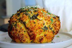 Helstegt blomkål med persillesmør og parmesan + noget om smør