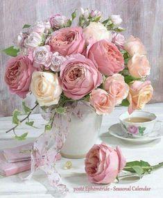 New Flowers Roses Bouquet Floral Arrangements Ideas Beautiful Flower Arrangements, Pretty Flowers, Fresh Flowers, Floral Arrangements, Diy Flower Arrangements For Weddings, Beautiful Bouquet Of Flowers, Deco Floral, Arte Floral, Vintage Floral
