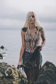 "#Solismag Check out our latest #Fashion Editorial from #Photographer: Fabrice Meuwissen | #Model: Clara Verdier | #Makeup Artist: Cyrillia Deyre | #Stylist: Julie Fabularium ""LET ME BE A MERMAID"" http://solismagazine.com/2016/fashion-editorial-mermaid/"