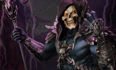 The Skeletor Statue is now available at Sideshow.com for fans of Masters of the Universe and He-Man.