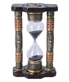 Look what I found on #zulily! Steampunk Sand Hourglass Figurine by Pacific Trading #zulilyfinds