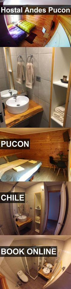 Hotel Hostal Andes Pucon in Pucon, Chile. For more information, photos, reviews and best prices please follow the link. #Chile #Pucon #travel #vacation #hotel