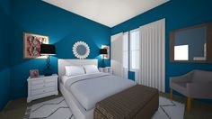 Online Interior Design Tools | Creating a Virtual 3D Room | Testing out Paint Colors