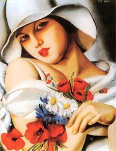 High Summer - Tamara de Lempicka, c. 1928