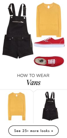 """""""Untitled #723"""" by yochett on Polyvore featuring Jardin des Orangers, H&M, Vans, women's clothing, women's fashion, women, female, woman, misses and juniors"""