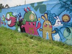 Characters By Pez, Koch1no - Bogota (Colombia) - Street-art and Graffiti | FatCap