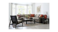 Axis II 3-Piece Sectional Sofa | Crate and Barrel
