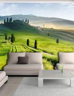 Carta da Parati Toscana  Carta da Parati Fotomurale Tema Viaggi