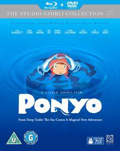 Ponyo sulla scogliera. Regia di Hayao Miyazaki