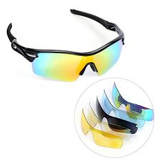 Polarized Cycling Sunglasses, multifun U.V Protection Sports Glasses with 5 Interchangeable Lenses Unbreakable for Riding Driving Fishing Running Golf and All Outdoor Activities http://sunglasses.henryhstevens.com/shop/polarized-cycling-sunglasses-multifun-u-v-protection-sports-glasses-with-5-interchangeable-lenses-unbreakable-for-riding-driving-fishing-running-golf-and-all-outdoor-activities/ https://images-na.ssl-images-amazon.com/images/I/41QLXzWUjLL.jpg