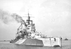 AUG 30 1940 British fleet sails into the Mediterranean The battleship HMS Valiant, built in 1914