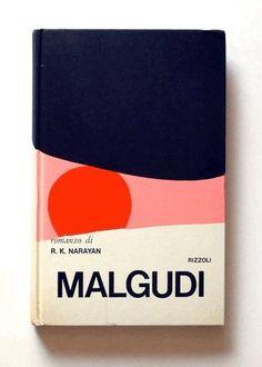 Book Cover Art - Mario Dagrada - 'Malgudi' by R. Deco Design, Print Design, Ms Project, Folders, Plakat Design, Design Typography, Branding, Beautiful Book Covers, Publication Design