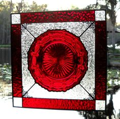Vintage Avon Ruby Red Cape Cod Dish Stained by HeritageDishes, $49.95