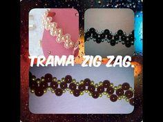Chinelos decorados-Trama Zig Zag simples e fácil. - YouTube