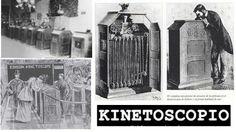 Del kinetógrafo al kinetoscopio