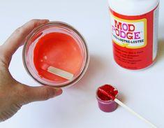 Πώς να δώσετε διάφανο χρώμα στα άδεια βάζα!