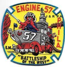 Philadelphia  Engine - 57, PA fire patch
