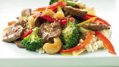 from my fitness pal blog - cashew beef & broc stirfry
