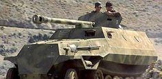 For sale: Replica (OT-810) German 'Pakwagen' built for the film 'Captain Corelli's Mandolin'
