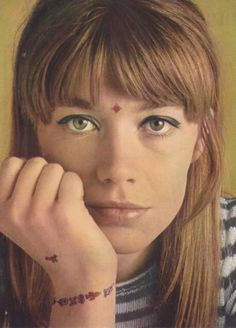 francoise hardy makeup - Google Search
