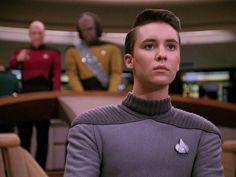 Beautiful Wesley Watch Star Trek, Star Trek Tos, Wesley Crusher, Wil Wheaton, Star Trek Original, Sci Fi Tv, Bff Goals, Geek Culture, Stand By Me