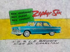 Ford Zephyr from the late Ford Zephyr, Australian Vintage, Vintage Posters, Old Things, Cinema, Ads, Poster Vintage, Movies, Movie Theater