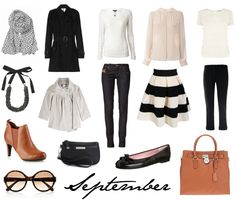 lisbet e. | Capsule Wardrobe for September
