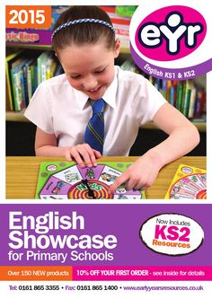 Early Years Resources ® are pleased to launch our English Showcase with…