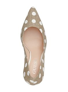 Neodan Polka-Dot Pumps | GUESS.com