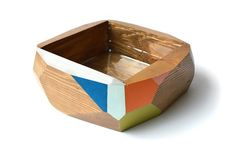 Geometric Planter / No. 1 by KarenKimmelStudios on Etsy, $160.00