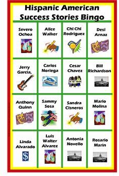 15 best diversity bingo games on uncommoncourtesy images on hispanic american success stories bingo game maxwellsz