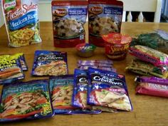 Get the right storebought food for a survival kit