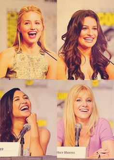 Dianna Agron, Lea Michele, Naya Rivera, Heather Morris