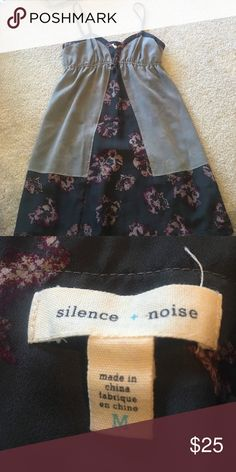 Silence and noise floral dress Urban outfitters. Size M. Great condition. Perfect for summer. Urban Outfitters Dresses Mini