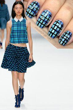 Vanessa Bruno SP14 #nail #nails #nailart