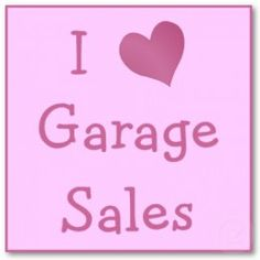 Confessions of a Garage Sale Junkie Garage Sale Signs, Speak Quotes, Thrift Store Shopping, For Sale Sign, How To Get Warm, Sale Poster, Recycled Crafts, Antique Shops, Wedding Programs